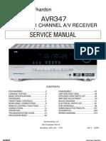 HarmanKardon AVR347 7.1 Rec