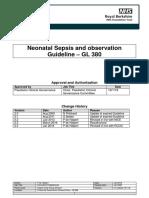 Neonatal Sepsis GL380 V2.4 Jan2018