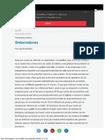 Enterradores Panorama Político Página12
