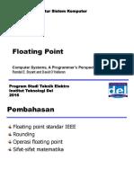 Arsitektur Sistem Komputer - Week 5 - Floating Point 1