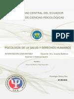 Ensayo-Psicología de La Salud y DDHH