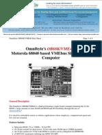 VME40 Datasheet