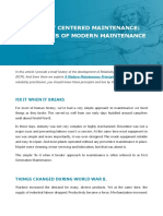 Reliability Centered Maintenance - 9 Principles of Modern Maintenance