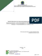 Projeto Pedagogico Do Curso de Engenharia Civil Do Campus Palmas