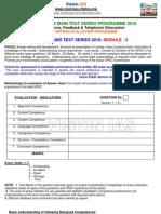 History Interactive Ias Main Test Series Programme 2010 Module II