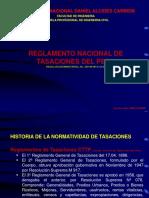 1.- Diapositvas Seminario Reglamento Tasaciones- Clases