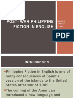 POST–war Philippine fiction in English.pptx