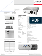 Projector Spec 4176