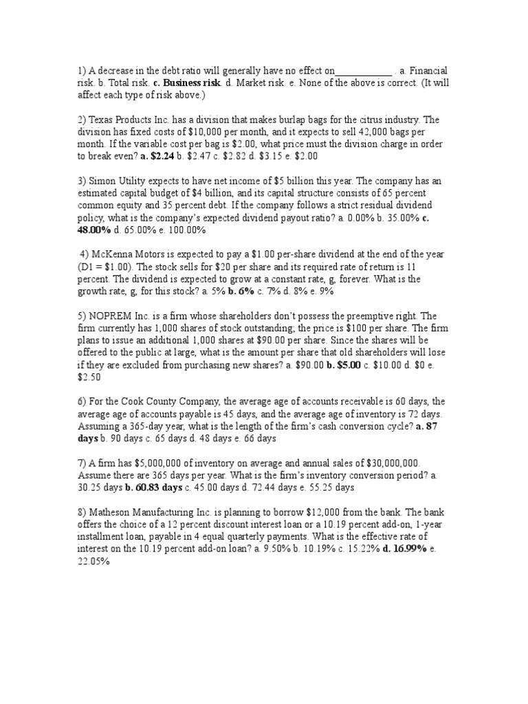 2010-03-25_134728_Fin317 doc | Dividend | Bonds (Finance)