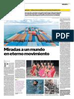 Planas, Enrique. (4 de octubre de 2018). Miradas a un mundo en eterno movimiento. El Comercio, p. Escape 3
