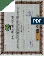 Sertifikat Akreditasi D3 Fisioterapi 2012-2017