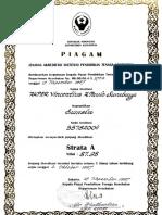 Sertifikat Akreditasi Depkes_1997