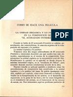 La unidad orgánica y lo patético en la composición de El acorazado de Potemkin