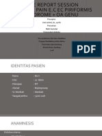 CRS LBP ec Sindrom Piriformis + OA Genu dextra Kelompok 9 2018.pptx