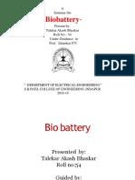 Biobattery 12