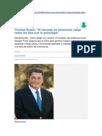 Thomas Russo - El Mercado Es Emocional - Juega Todos Los Días Con Tu Psicología