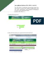 Prosedur Penggunaan Aplikasi Software INA CBG