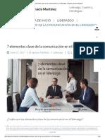 7 Elementos Clave de La Comunicación en El Liderazgo - Blog de Ignacio Martínez