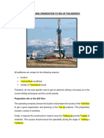 Planning and Orgnization to Rig Upthe Derrick