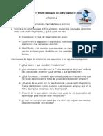 Actividades Complementariaa Del CTE, Ciclo Escolar 2018-2019
