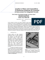 Electrodeposition of Silver and Copper/Silver Multilayer on Ruthenium Substrate as a Potential New Metal Interconnect for Integrated Circuits
