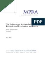 MPRA Paper 16622