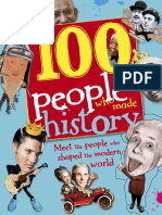 100 People Who Made History Gilliland Ben DK