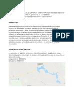 Proyecto Hidroelectrica Presa Danxho
