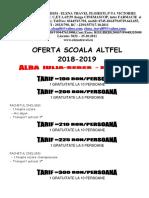 Scoala Altfel Alba Iulia -Sebes -PDF