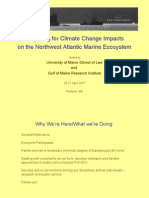 Climate Marine Panel Incze