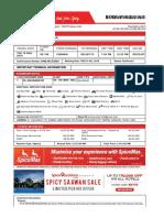 SpiceJet_E-ticket_PNR MC5QMD - 16 Aug 2018 Chennai-Delhi for MR. PM