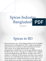 Spices Industry Bangladesh