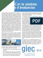 Le GIEC et le sixième cycle d'évaluation