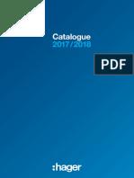 Hager General Catalogue 2018