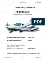 Pilot's Operating Handbook PS-28 Cruiser