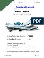 Pilot's Operating Handbook PS-28 Cruiser