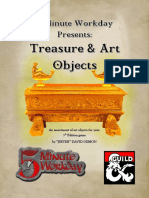 5 Minute Workday - Treasure & Art Objects