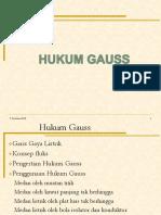 Hukum Gauss fisika