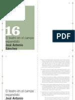 16 MACBA QP - José Antonio Sánchez - El teatro en el campo expandido