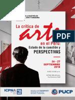 La crítica de arte en el Perú