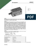 030331 de Naeherungsschalter Induktiv-magnetisch