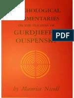 Maurice Nicoll - Psihološki komentari na učenje Gurdijeva i Uspenskog