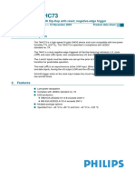 Datasheet JK 74HC73