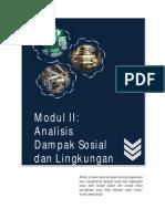 Modul 2 APU - Analisa Dampak Sosial Dan Lingkungan