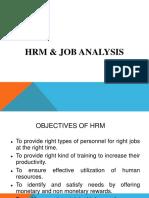 HRM , Job Analysis & BPR