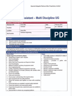 04001240 Engineering Assistant Multi Disc UG (B2)