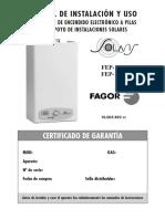 Manual Termo Fagor