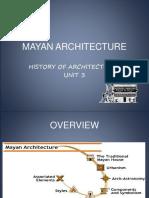 MAYAN ARCHITECTURE unit3.ppt