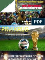 Svjetska nogometna prvenstva 1930 - 2014. (Kviz)