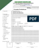 Formulir Pendaftaran BEM STIKes